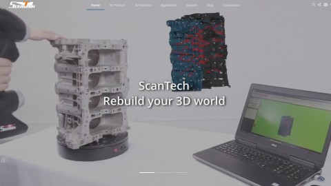 ScanTech Rebuild your 3D world