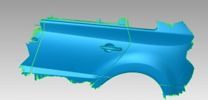 Stl 3D data of the standard car