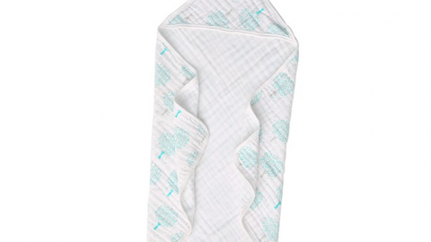 Muslin Cotton Baby Hooded Towel