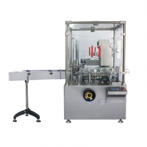 Universal functions of vertical cartoning machine