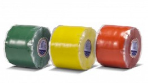 What are the three types of electrical insulating tapes