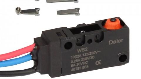 Principle of micro switch
