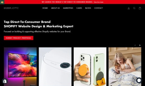 EastDTC-Top Direct-To-Consumer Brand SHOPIFY Experts
